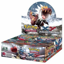 Pokémon Box Display Xy 3 Punhos Furiosos 36x5