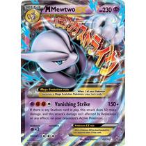 Mega Mewtwo X-ex Breakthrough(#63) Português+brinde