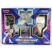Box Pokémon Mega Mewtwo X Com Miniatura - Original E Lacrado