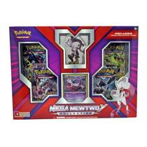 Box Pokémon Mega Mewtwo Y Com Miniatura - Original E Lacrado