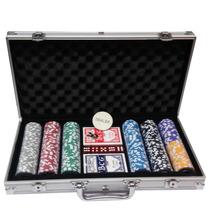 Maleta Poker 300 Fichas Numeradas