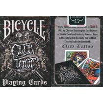 Baralho Bicycle Club Tattoo - Poker Pôquer - Edição Limitada