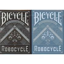 Baralho Bicycle Robocycle Azul Ou Preto - Pôquer Poker