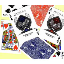Baralho Bicycle Masters Deck Azul 808
