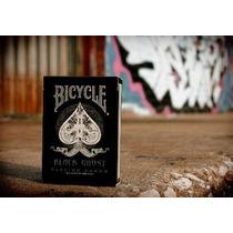 Baralho Bicycle Black Ghost Ellusionist - 1a. Edição