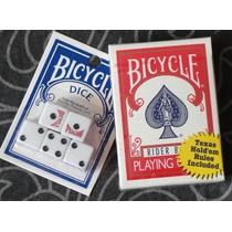 Baralho Bicycle Rider Back + Jogo De Dados