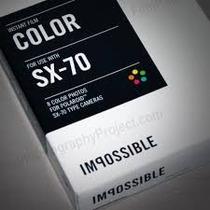 Kit-filme Polaroid Px 70 Cpf By Impossible - Frete Gratis
