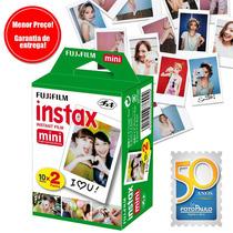 Filme Instantâneo Instax Mini - 20 Fotos