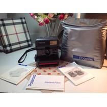 Máquina Fotográfica Polaroid Antiguidade 636 Talking Camera