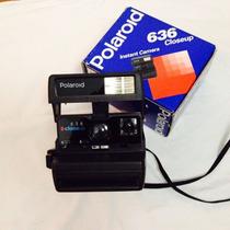 Polaroid 636 Close Up Máquina Fotográfica