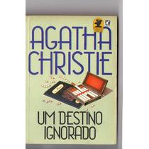 Livro Agatha Christie / Um Destino Ignorado / Editora Record