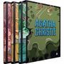 Box Coleção Ágatha Christie Luxo 4 - Capa Dura (3 Livros)