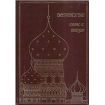 Livro Crime E Castigo Dostoiévski Dois Volumes Capa Dura L