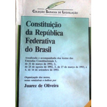 Constituiçao Da Republica Federativa Do Brasil 1994 Saraiva
