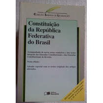 Constituiçao Da Republica Federativa Do Brasil 2005 Saraiva