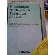 Constituiçao Da Republica Federativa Do Brasil 1999 Saraiva