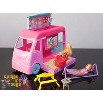 Polly Pocket Carro Trailer Pop Up Mattel Com Acessórios