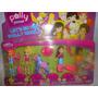 Boneca Polly Pockt Kit Com 4 Bonecas E Uma Maliroponey