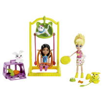 Polly Amigas Dia Divertido Parquinho Mattel