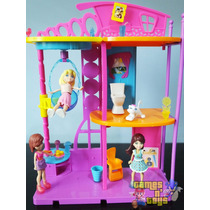Polly Pocket Casa Cola E Descola Mattel
