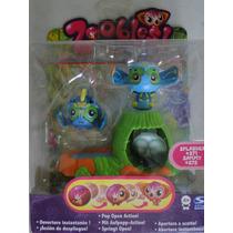 Zoobles Splasher 271 Sammy 272 Acessorios Spring To Life