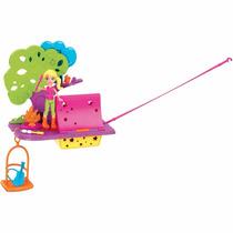 Polly Pocket Wall Party Aventura Nas Nuvens - Boneca Menina