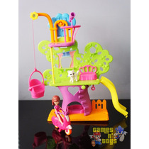 Polly Pocket Casa Da Árvore Wall Party Mattel