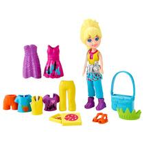 Bolsinha Boneca Polly Pocket - Férias Em Nova York - Mattel