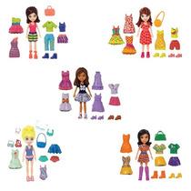 Polly Pocket - 5 Amigas Super Fashion - Mattel
