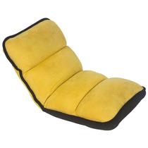 Cadeira Reclinável De Chão Infantil Amarela Fullway