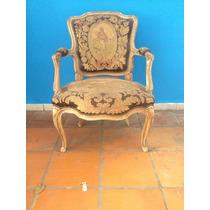 (by Vecchio)antiga Cadeira Luis Xv