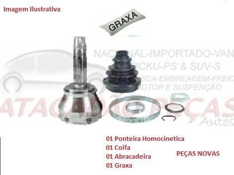 Ponteira Homocinetica Roda Ford Fiesta 1.0/ 1.3 96 Ate 98
