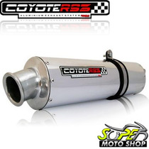 Escape Ponteira Coyote Rs3 Oval Stx Motard 200 Polido Sundow