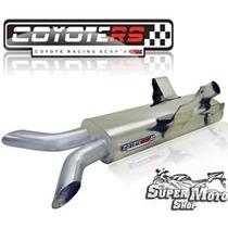 Escape Ponteira Coyote Ss2 Aço Inox Único Xb 9s - Buell