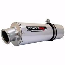 Escape Ponteira Roncar Coyote Rs3 Oval Honda Cb 300 R Polido