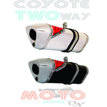 Escape / Ponteira Coyote Trs 2 Two Way - Cb 300 R - Honda