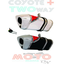 Escape / Ponteira Coyote Trs 2 Two Way + Xre 300 - Honda