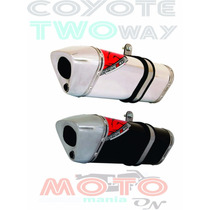 Escape / Ponteira Coyote Trs 2 Two Way + Tenere 250 - Honda