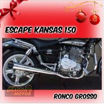 Ponteira Kansas 150 Custom Ronco Grosso Estilo Harley