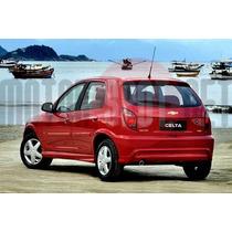 Ponteira Aluminio Chevrolet Celta 2.5 Polegadas