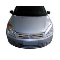Grade Dianteira Ford Fiesta Em Aço Inox 2007 2008 2009 2010