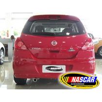 Ponteira Nissan Tida Hatch Em Aço Inox 304 Lindíssima !!!