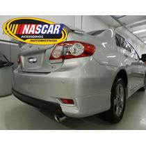 Ponteira Esportiva Toyota Corolla Xrs/xei Em Aço Inox 304