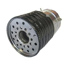 Ponteira Aluminio Esportiva Carbono Som De Turbo Enchendo