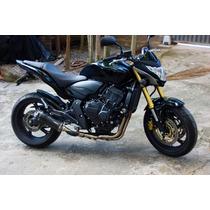 Ponteira Escape Full 4x2x1 Shark Carbon Hornet Cb600 08 À 14