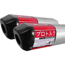 Ponteira/ Escape Pro Tork V-pro | Yamaha Xt 660r ( Dupla )