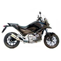 Ponteira Leovince Honda Nc700x Lv One Inox