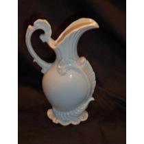 Ânfora De Porcelana Branca - 17,5 Cm De Altura