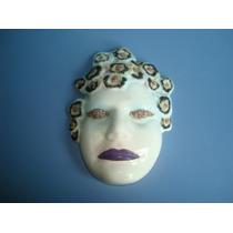 Mascara De Porcelana Para Decoração De Parede