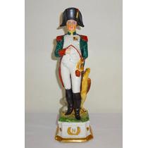 Napoleão C/ Águia Imperial Escultura Porcelana 32 Cm